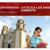 Estudiar Ingeniería en la Universidad Católica Los Ángeles de Chimbote